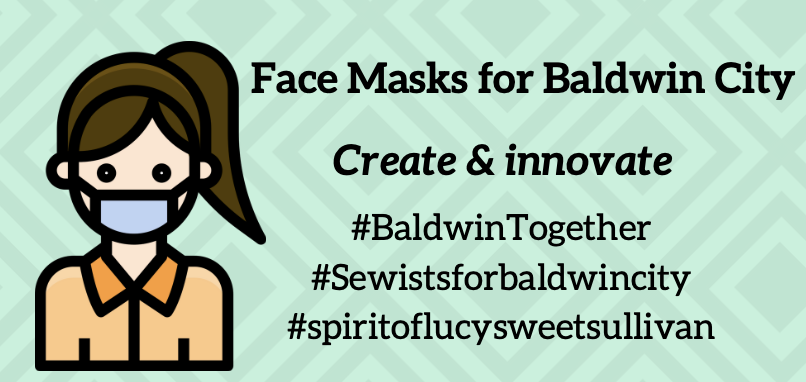 Face Masks For Baldwin City: The Back Story and Building Capacity