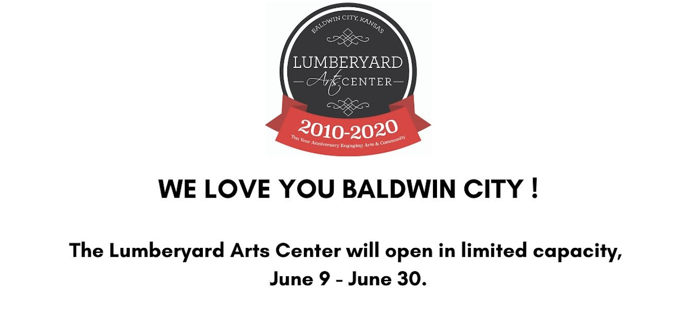 Lumberyard Arts Center June Re-Opening Plan