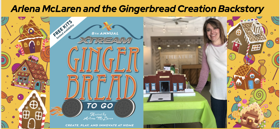 Gingerbread Kits to Go! The Back Story with our Host, Arlena McLaren – Week 1